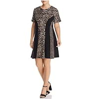 Plus size animal print dress from Bloomingdale's