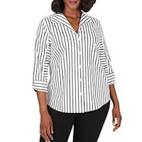 Plus size stripes from Bloomingdale's
