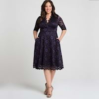 Lace plus size dresses from Kiyonna
