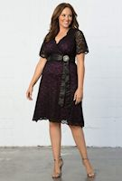 Plus size retro style dresses from Kiyonna