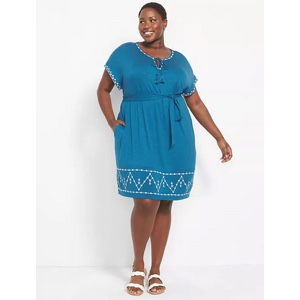 Plus size casual dresses from Lane Bryant
