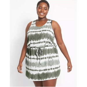 Plus size cover ups from Lane Bryant