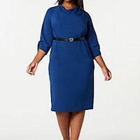 Plus size career dresses from Macy's