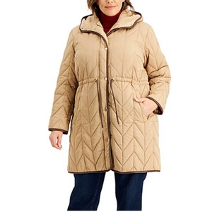 Macy's plus size coats