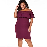 Plus size date night dresses from Macy's