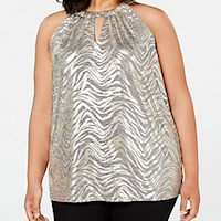 Plus size metallics from Macy's