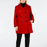 Plus size red fashions from Macy's