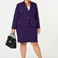 Plus size skirt suits from Macy's