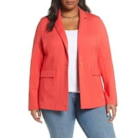 Plus size blazers from Nordstrom