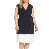 Plus size colorblocked dresses from Nordstrom