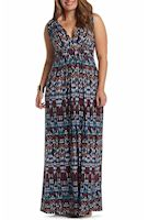 Plus size global print dresses from Nordstrom