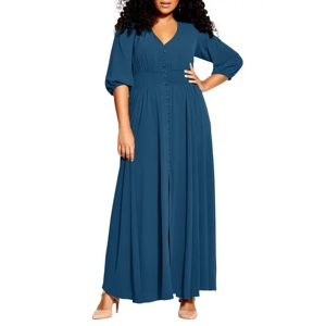 Plus size maxi dresses from Nordstrom