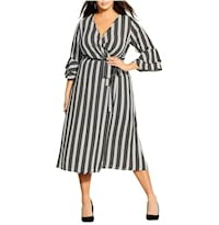 Plus size striped dresses from Nordstrom