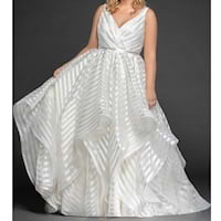 Plus size wedding gowns from Nordstrom